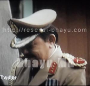 Foto 2. Seragam sang jenderal.